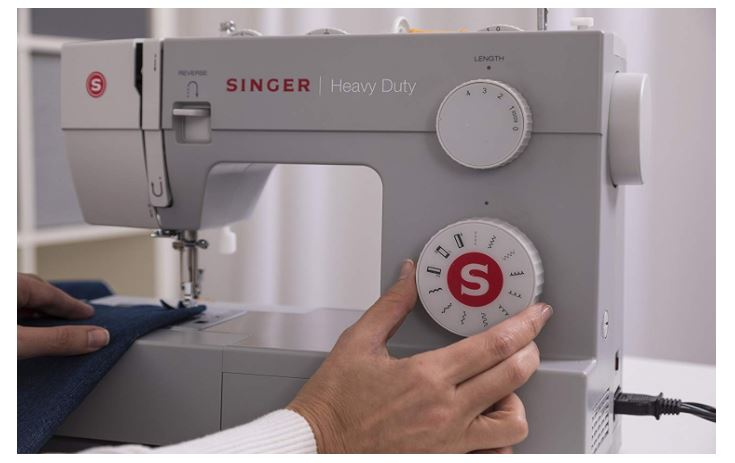 singer heavy duty 4411 sewing machine with 11 built-in stitches