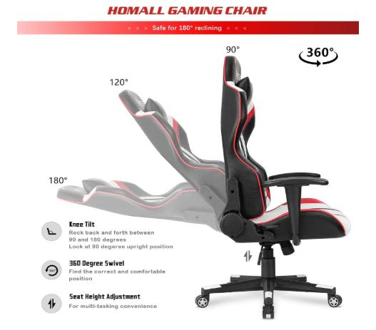 homall gaming chair office chair high back computer chair