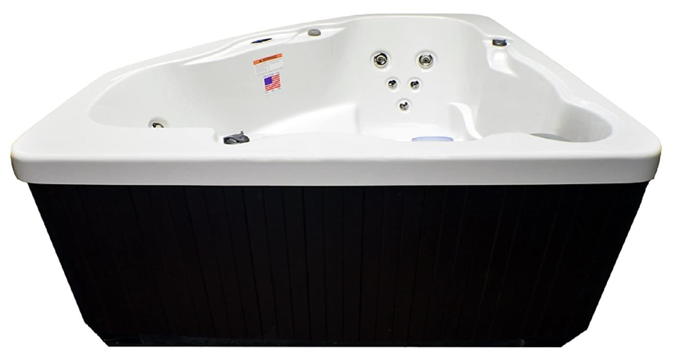 Hudson Bay 3 Person 14 Jet Spa, Best 3 Person Corner Hot Tubs