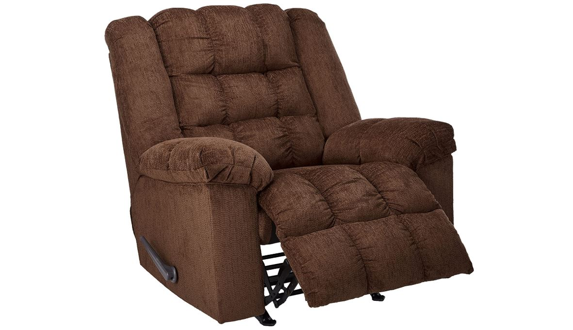 Signature Design by Ashley Ludden Rocker Recliner Cocoa-BestCartReviews